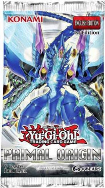 YuGiOh Trading Card Game Primal Origin Booster Pack [9 Cards]