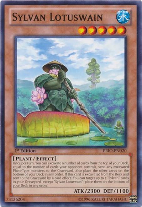 YuGiOh Trading Card Game Primal Origin Common Sylvan Lotuswain PRIO-EN020