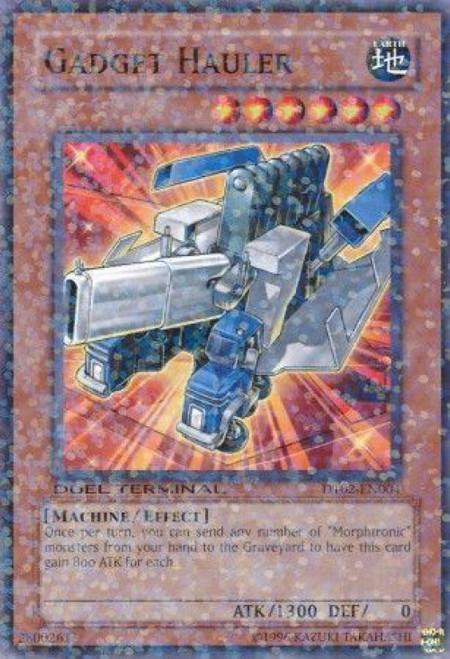 YuGiOh YuGiOh 5D's Duel Terminal 2 Parallel Rare Gadget Hauler DT02-EN004