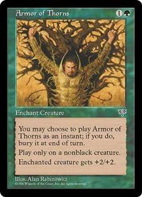 MtG Mirage Common Armor of Thorns