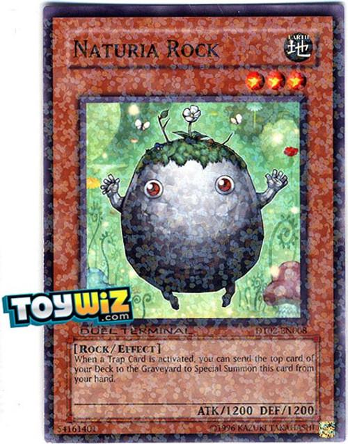 YuGiOh YuGiOh 5D's Duel Terminal 2 Parallel Rare Naturia Rock DT02-EN008
