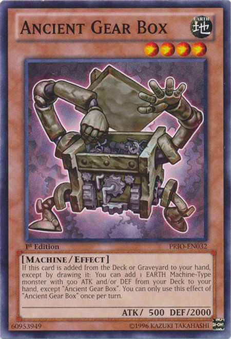 YuGiOh Trading Card Game Primal Origin Common Ancient Gear Box PRIO-EN032