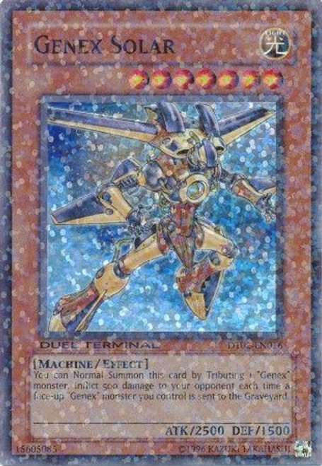 YuGiOh YuGiOh 5D's Duel Terminal 2 Parallel Rare Genex Solar DT02-EN016