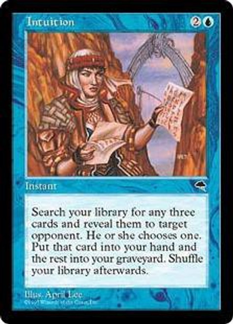 MtG Tempest Rare Intuition