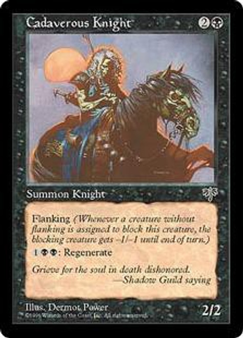 MtG Mirage Common Cadaverous Knight