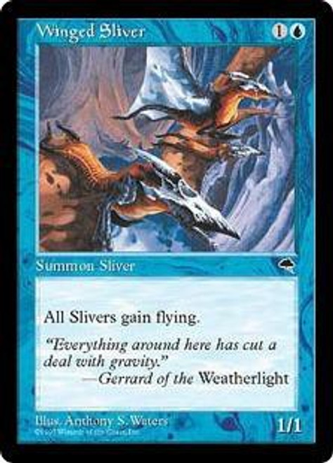 MtG Tempest Common Winged Sliver