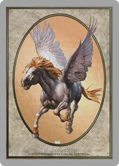 MtG Unglued Uncommon Pegasus token card #89