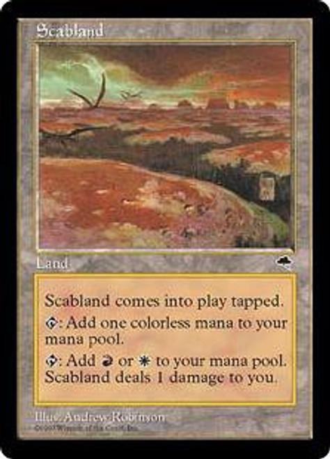 MtG Tempest Rare Scabland