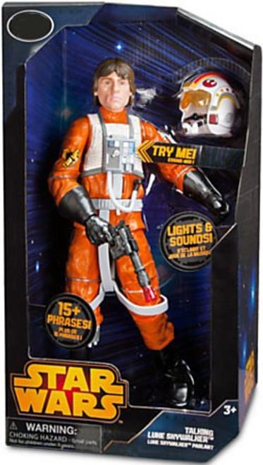 Disney Star Wars A New Hope Luke Skywalker X-Wing Pilot Exclusive Talking Action Figure [2014]