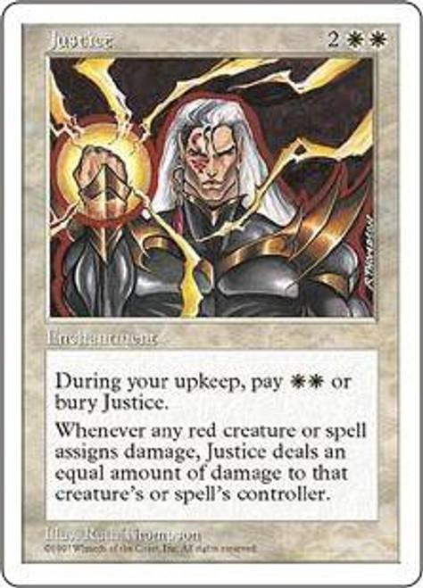 MtG 5th Edition Uncommon Justice