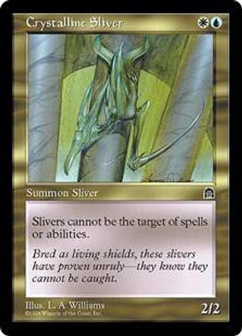 MtG Stronghold Uncommon Crystalline Sliver