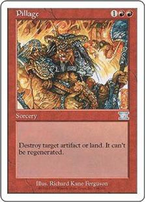 MtG 6th Edition Uncommon Pillage #198 [Played Condition]