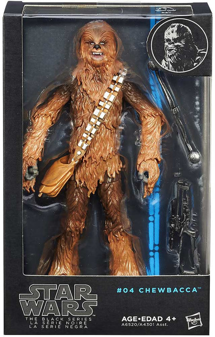 Star Wars Black Series Wave 5 Chewbacca Action Figure #04