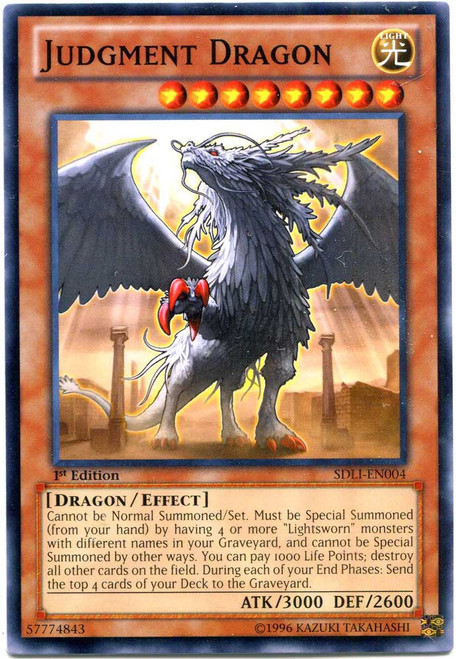 YuGiOh Realm of Light Common Judgment Dragon SDLI-EN004