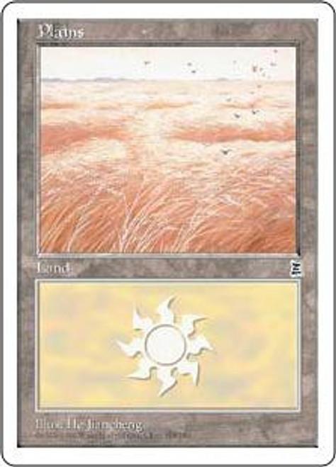 MtG Portal Three Kingdoms Basic Land Plains [RANDOM Artwork]