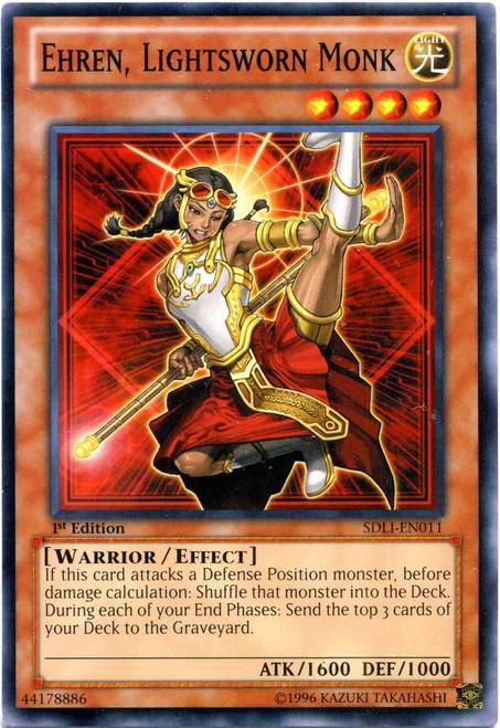 YuGiOh Realm of Light Common Ehren, Lightsworn Monk SDLI-EN011