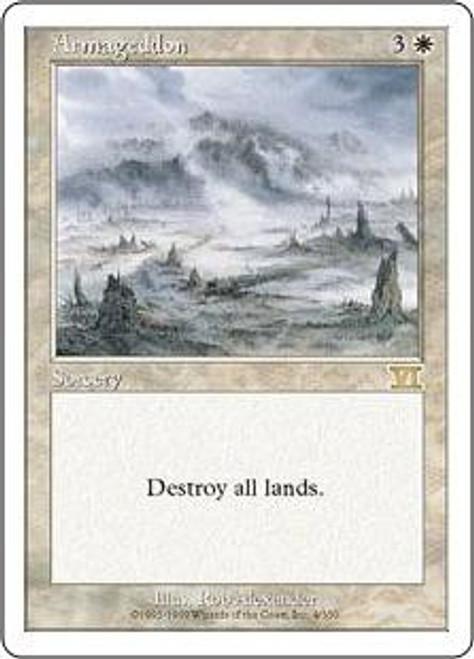 MtG 6th Edition Rare Armageddon #4