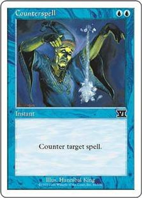 MtG 6th Edition Common Counterspell #61