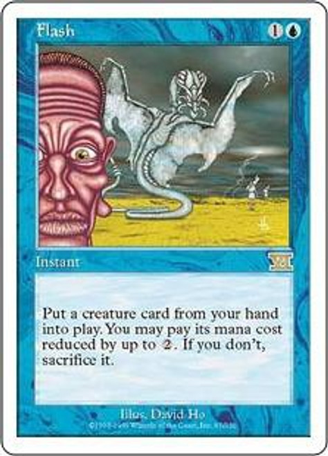 MtG 6th Edition Rare Flash #67