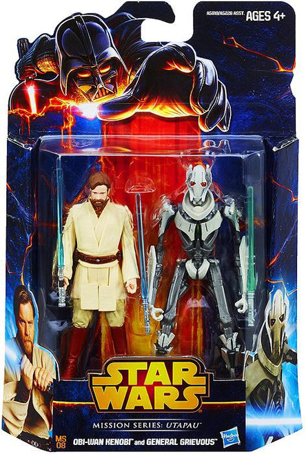 Star Wars Attack of the Clones Mission Series Utapau Action Figure 2-Pack MS08