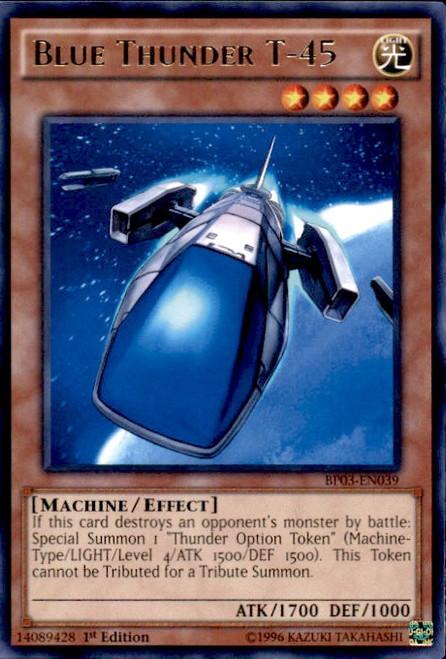 YuGiOh Battle Pack 3 Monster League Rare Blue Thunder T-45 BP03-EN039