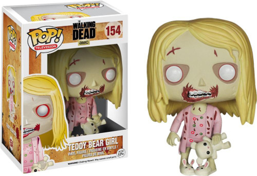 Funko The Walking Dead POP! TV Teddy Bear Girl Vinyl Figure #154