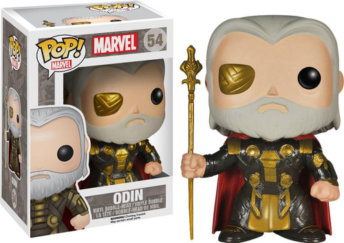 Funko Thor The Dark World POP! Marvel Odin Vinyl Figure #54