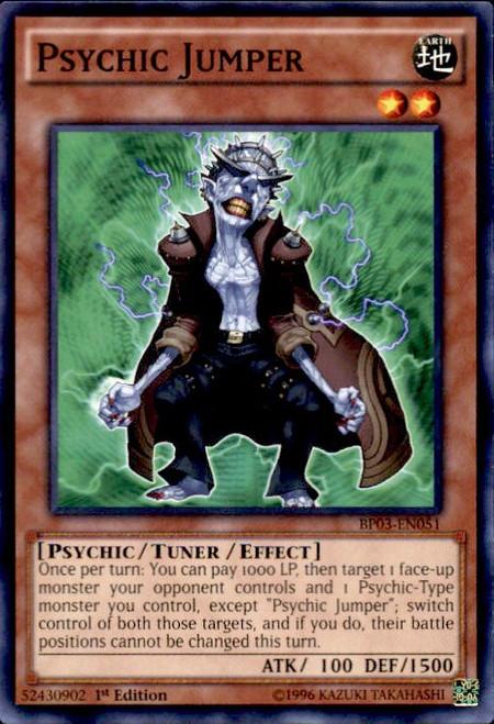YuGiOh Battle Pack 3 Monster League Common Psychic Jumper BP03-EN051