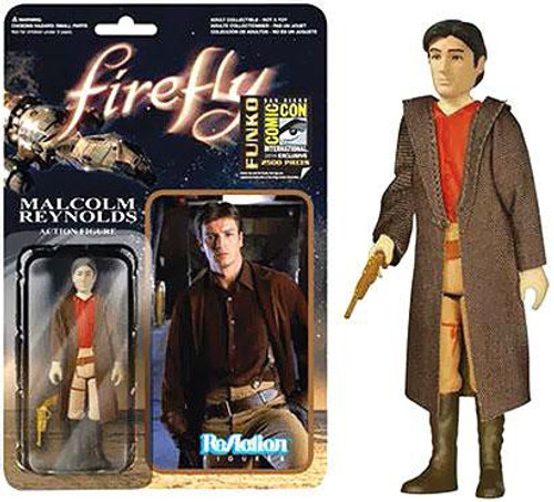 Funko Firefly ReAction Malclom Reynolds Exclusive Action Figure [Browncoat]