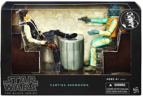 Star Wars Black Series 6-Inch Deluxe Cantina Showdown Exclusive Action Figure Set