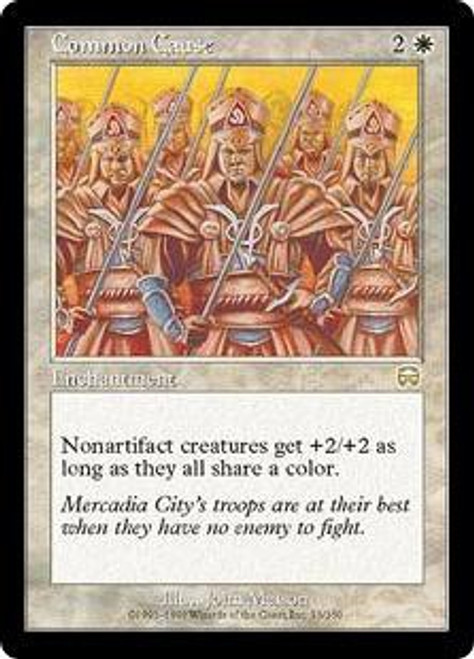 MtG Mercadian Masques Rare Common Cause #13 [Played Condition]