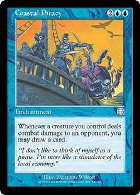 MtG Mercadian Masques Uncommon Coastal Piracy #68