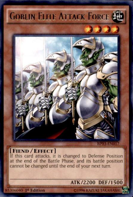 YuGiOh Battle Pack 3 Monster League Shatterfoil Rare Goblin Elite Attack Force BP03-EN017 [Shatterfoil]