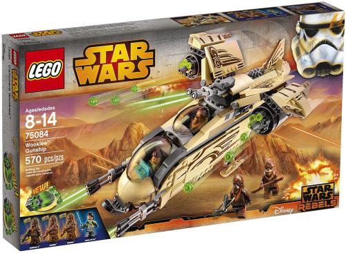 LEGO Star Wars Rebels Wookiee Gunship Set #75084