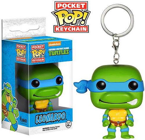 Funko Teenage Mutant Ninja Turtles Pocket POP! TV Leonardo Keychain