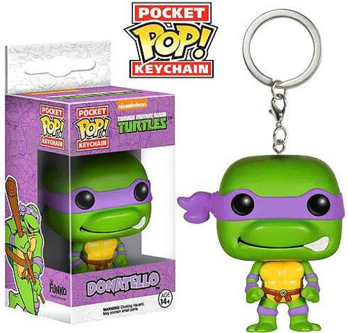 Funko Teenage Mutant Ninja Turtles Pocket POP! TV Donatello Keychain