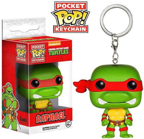 Funko Teenage Mutant Ninja Turtles Pocket POP! TV Raphael Keychain