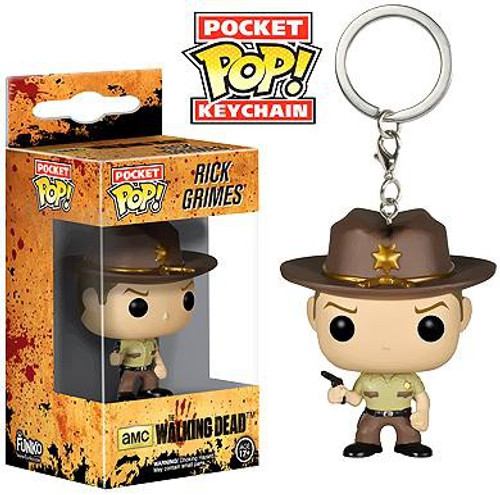 Funko The Walking Dead Pocket POP! TV Rick Grimes Keychain