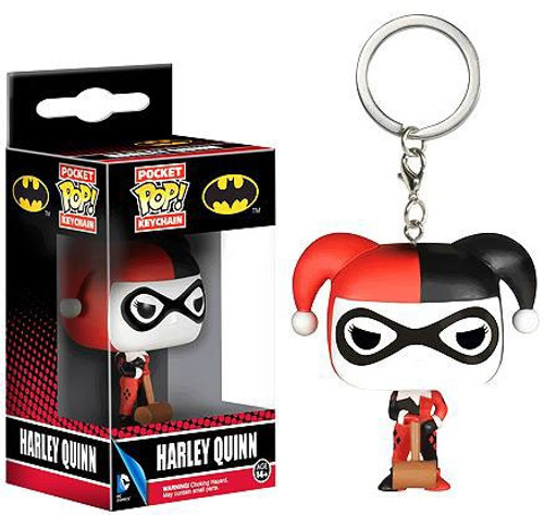 Funko Batman Pocket POP! Heroes Harley Quinn Keychain