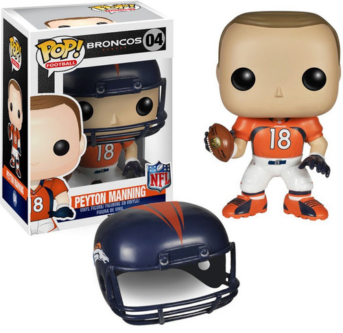 Funko NFL Denver Broncos POP! Sports Football Peyton Manning Vinyl Figure #04