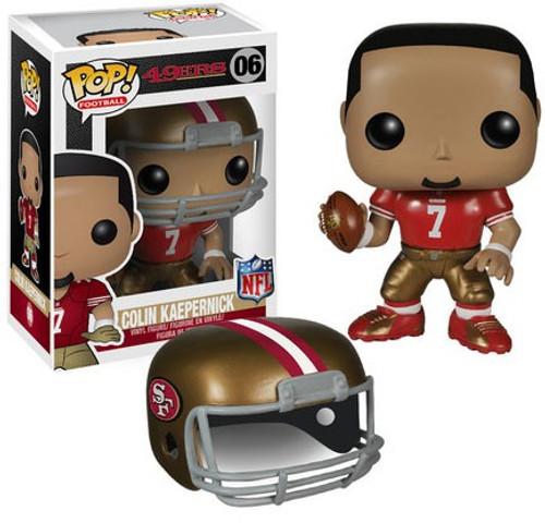 Funko NFL San Francisco 49ers POP! Sports Football Colin Kaepernick Vinyl Figure #06