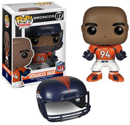 Funko NFL Denver Broncos POP! Sports Football DeMarcus Ware Vinyl Figure #07