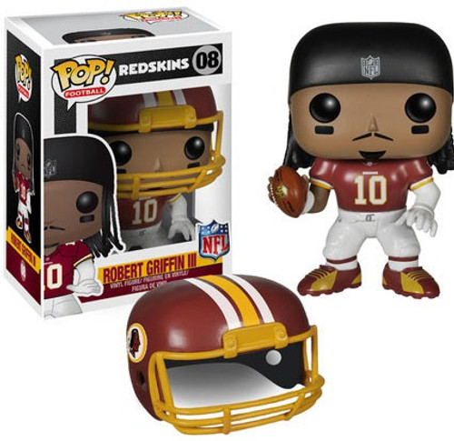 Funko NFL Washington Redskins POP! Sports Football Robert Griffin III Vinyl Figure #08