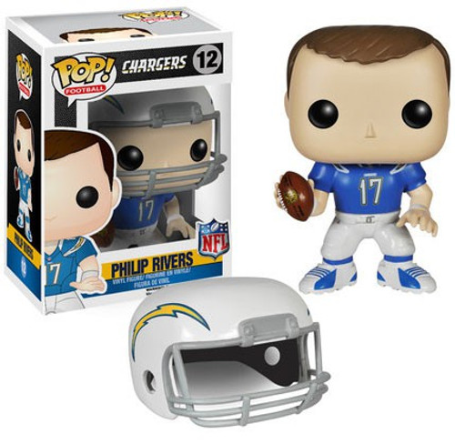 Funko NFL San Diego Chargers POP! Sports Football Philip Rivers Vinyl Figure #12