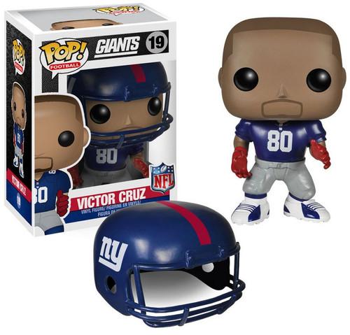 Funko NFL New York Giants POP! Sports Football Victor Cruz Vinyl Figure #19 [Blue Jersey]