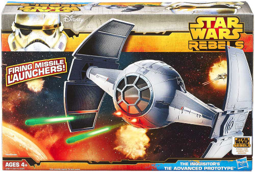Star Wars Rebels Class II Attack Vehicle Inquisitor TIE Advanced Prototype Action Figure Vehicle