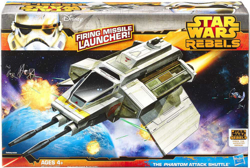 Star Wars Rebels Class II Attack Vehicle The Phantom Attack Shuttle Action Figure Vehicle