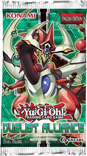YuGiOh Trading Card Game Duelist Alliance Booster Pack [9 Cards]