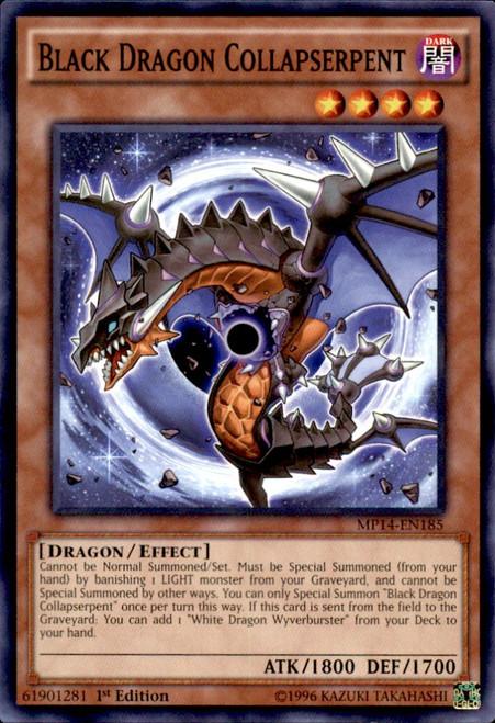 YuGiOh 2014 Mega Tin Common Black Dragon Collapserpent MP14-EN185