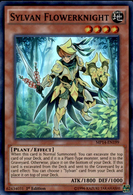 LVAL-ENDE3 Sylvan Cherubsprout Super Rare 1st Edition Mint YuGiOh Card
